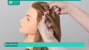 بافت مو سه بعدی تیغ ماهی