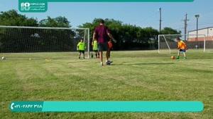تمرین دروازه بانی مانوئل نویر به کودکان