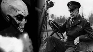 ارتباط آمریکا با آدم فضایی ها