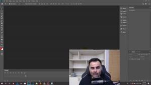 آموزش درست کردن عکس پروفایل در فتوشاپ