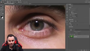 تغییر رنگ چشم در فتوشاپ ۲۰۲۰