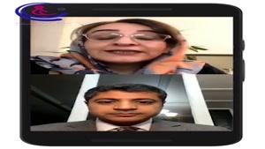 گفتگوی آنلاین دکتر فتانه ضیائی با دکتر فرشید اربابی