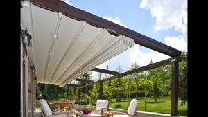 09300093931 اجرای پوشش چادری تراس پارکینگ رستوران - سقف تاشو