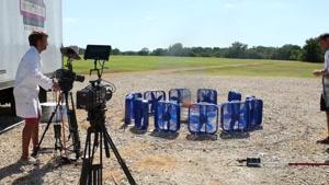 ساخت گردباد آتش همراه با فیلم برداری حرفه ای