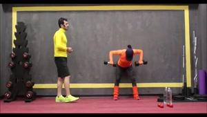 تمرین عضلات سرشانه یا دلتوئید در منزل