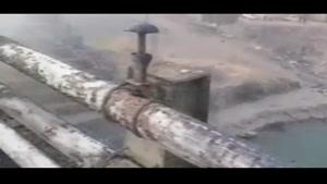 واژگونی و انفجار تانکر سوخت در جاده دماوند