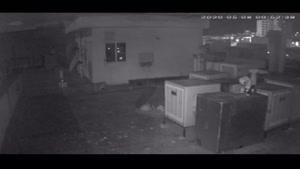 لحظه ثبت زلزله تهران توسط دوربین مخفی