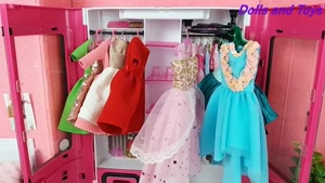 لباس های عروسک جدید باربی