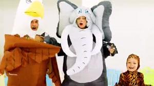 ترانه کودکانه مایا و مری با داستان - لباسهای خنده دار
