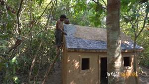 ساختن یه خونه جنگلی شیک همراه با استخر و سرسره فقط با دست!