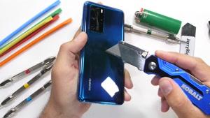 تست مقاومت گوشی Huawei P40 Pro