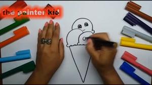 آموزش نقاشی بچه گانه