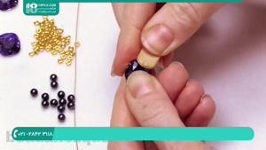 ساخت دستبند کریستالی شیک و زیبا