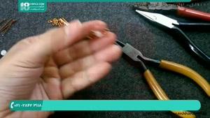 آموزش ساخت دستبند با سیم مسی