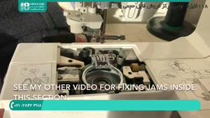 آموزش گام به گام تعمیر چرخ خیاطی