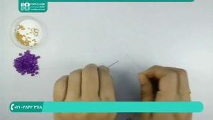 ساخت دستبند مهره ای