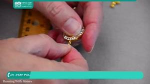 آموزش دستبند دایره ای کریستال