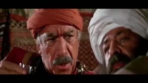 محمدعلی کشاورز، آنتونی کوئین و بهروز وثوقی در فیلم کاروانها