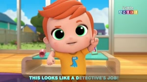 انیمیشن آموزش زبان انگلیسی Little Angel قسمت 264