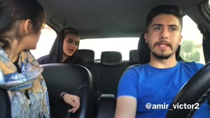دوربین مخفی دعوا دخترا در تاکسی