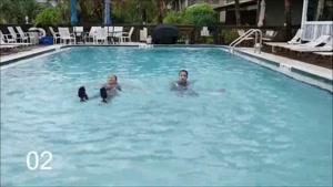تمرین ورزش در آب برای بدنسازی و فیتنس