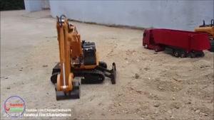 ماشین کنترلی بیل مکانیکی huina قوی و متفاوت/نوین آرسی