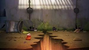 کارتون لاروا این داستان بزرگ ترین حباب