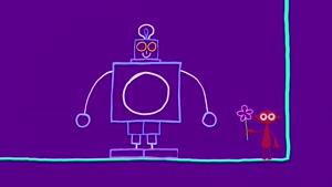 کارتون دیپ دپ با داستان دیپ دپ و ربات