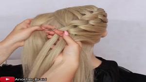 آموزش گام به گام یک مدل بافت مو جدید از جلوی سر