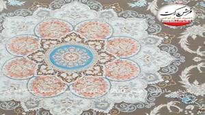 فرش شیما نسکافه ای 1200شانه - فرش مارکت -فرش کاشان