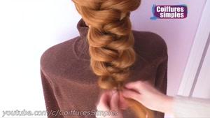 آموزش گام به گام یک مدل شینیون مو بسیار زیبا و شیک