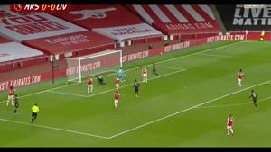 خلاصه بازی لیورپول 1-2 آرسنال در لیگ برتر انگلیس