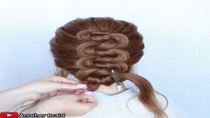 آموزش گام به گام یک مدل مو جدید برای عروسی