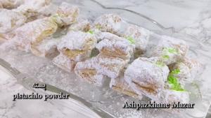 طرز تهیه شیرینی ساده با خمیر ورقی به شکل پروانه