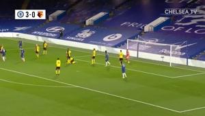 خلاصه بازی چلسی 3-0 واتفورد در هفته سی و سوم لیگ برتر انگلیس
