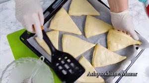 طرز تهیه نان ورقی تازه با دستورالعمل ساده
