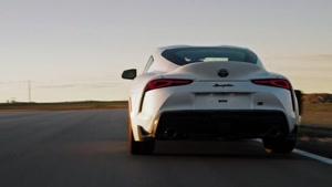 معرفی ویدیویی خودرو toyota supra مدل 2021