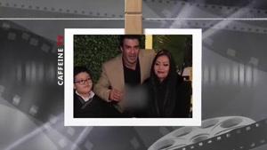 فیلم لحظه جدایی یوسف تیموری از همسر تایلندی و فرزندش