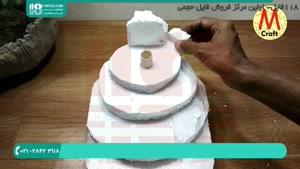 ساخت آبنما کوچک رومیزی با یونولیت