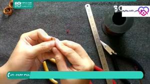 آموزش صفرتا صد ساخت زیورآلات مسی