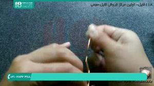 آموزش ساخت زیورآلات مسی با سیم مفتول