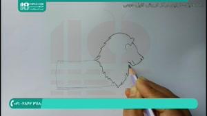 ایده های جالب برای کشیدن نقاشی شیر