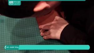 فیلم آموزش دوخت کیف دستی چرم دست دوز
