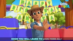 انیمیشن آموزش زبان انگلیسی Little Angel قسمت 295