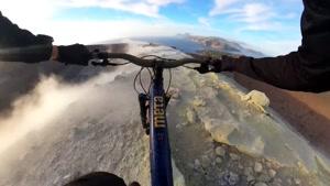 دوچرخه سواری حرفه ای در کوهستان