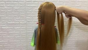 آموزش گام به گام چند مدل بافت مو بسیار زیبای دخترانه