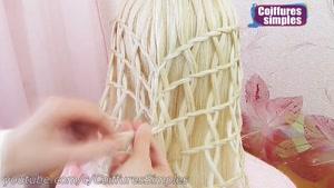 آموزش یک مدل بافت مو سبدی زیبا و دخترانه