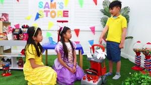 بازی های کودکانه این داستان اسباب بازی رنگی