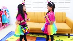 بازی های کودکانه این داستان لباس های جادویی