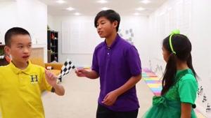 بازی های کودکانه این داستان چالش ورزشی